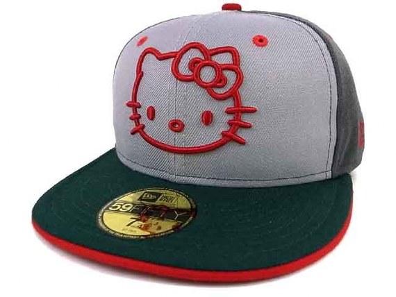 3a2be5b96d7 Hello Kitty x New Era – 59FIFTY Cap