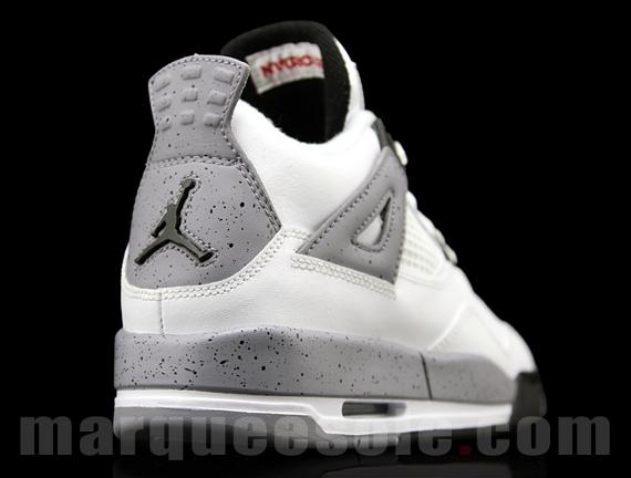 b69e981671576d Air Jordan IV GS – White Cement 2012 Retro