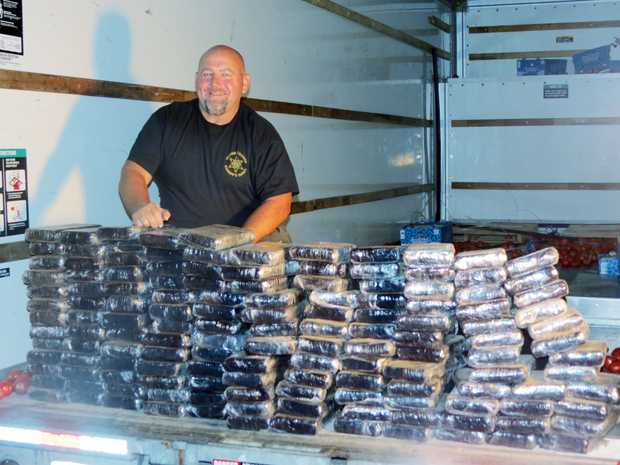 One Of Ga Largest Drug Busts 840 Pounds Of Cocaine Worth
