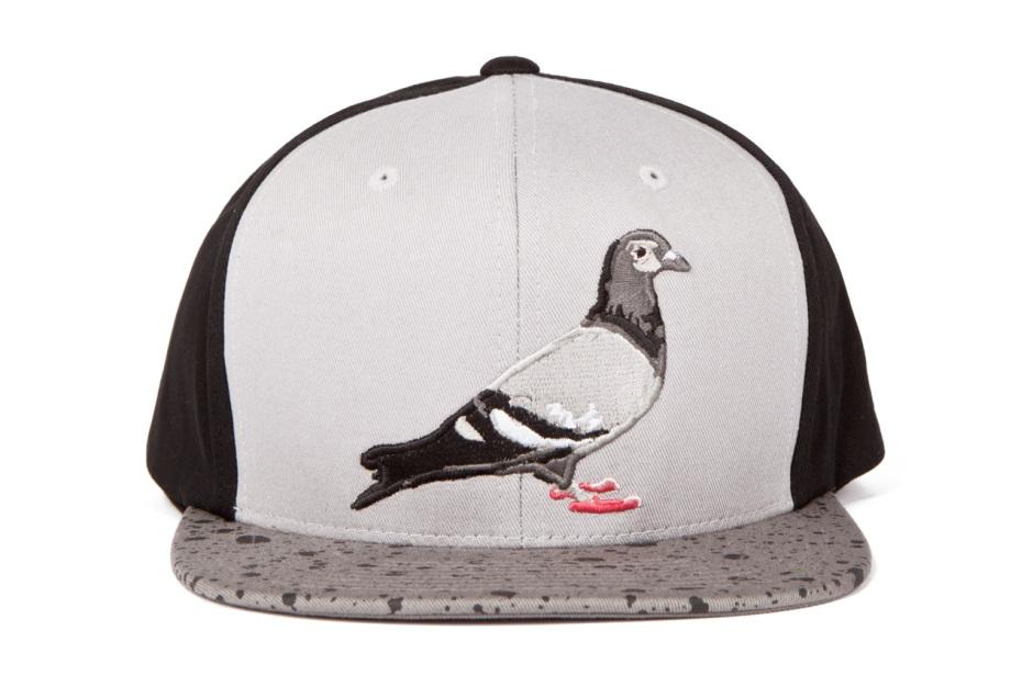 Staple – Grey Heather Starter Pigeon Snapback Cap  90574267a1ec