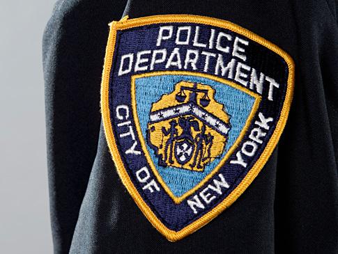 New York Police Officer Badge
