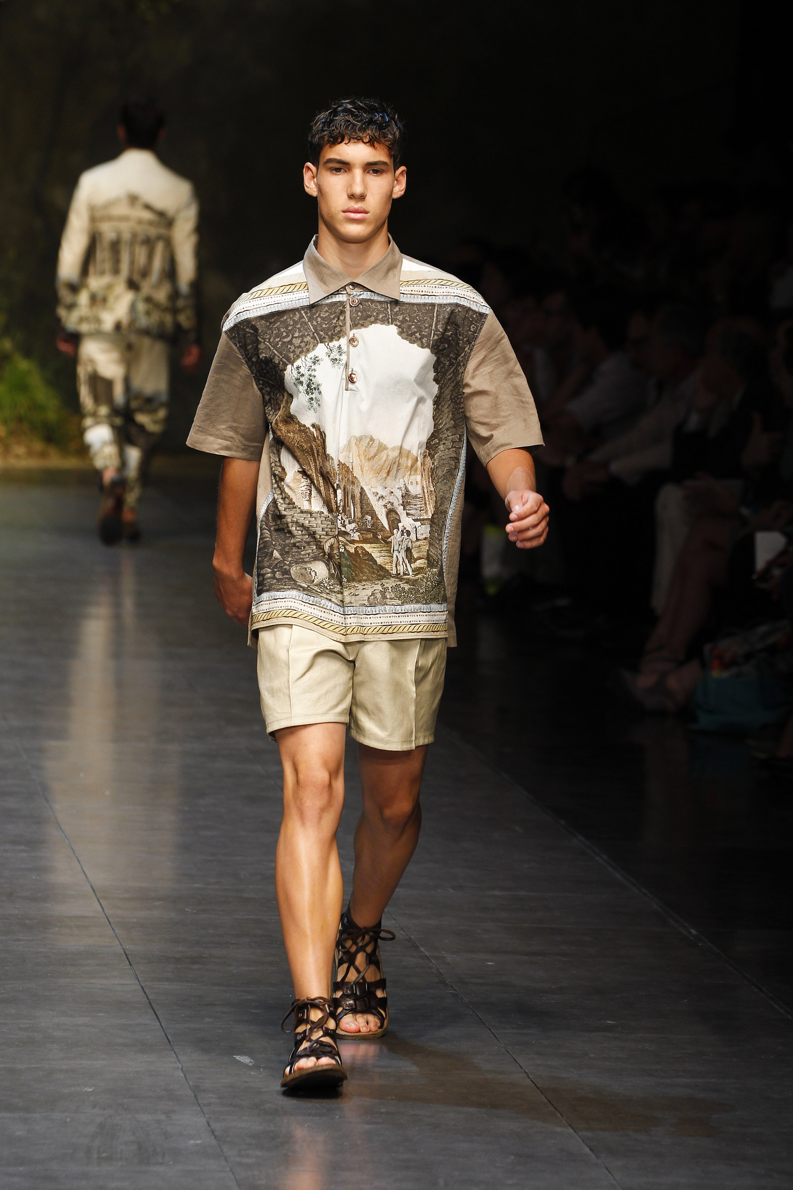 Dolce Amp Gabbana Summer 2014 Men S Fashion Show Media