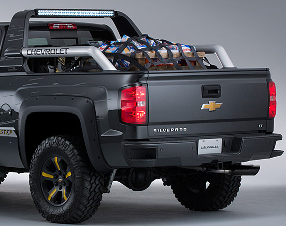 2014 Chevrolet Silverado Crew Cab 44  Black Ops Concept