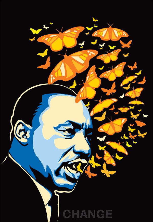 20 Of The Dopest MLK Tribute Art | Media Anarchist