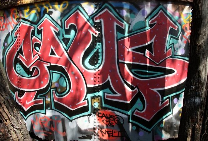 Santa Monica – Abandoned Nazi Compound Graffiti ...