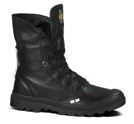 marcus troy spongebob squarepants palladium boots baggy leather
