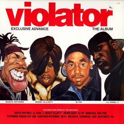 Violator Records Logo Imprint Violator Records