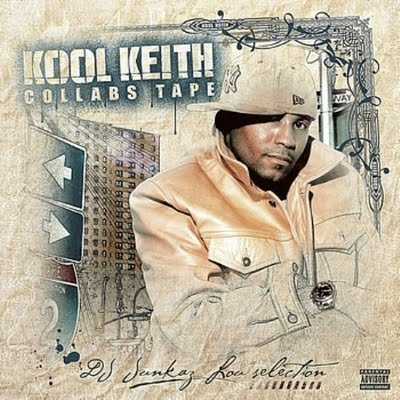Kool Keith - Collabs Tape-(2CD)-Cover