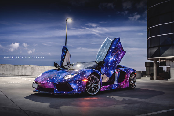 Lamborghini Aventador Galaxy By Dxsc Media Anarchist