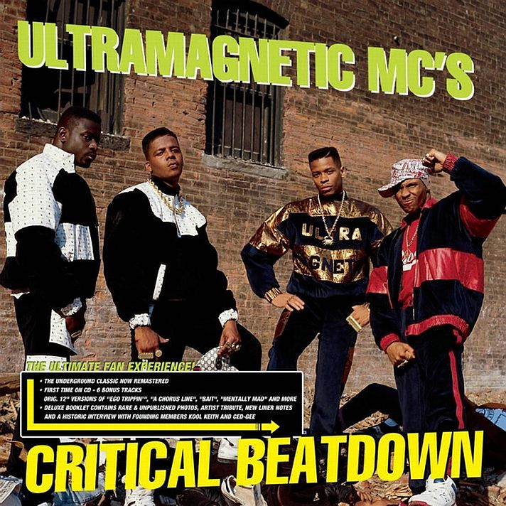Ultramagnetic MC's - Critical Beatdown -