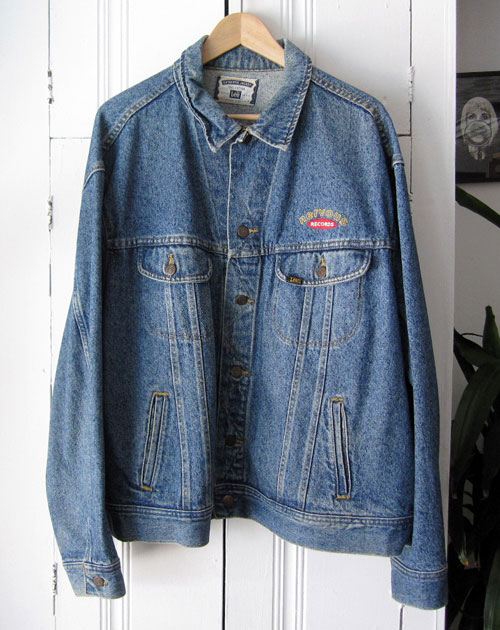 nervous-records-denim-jacket