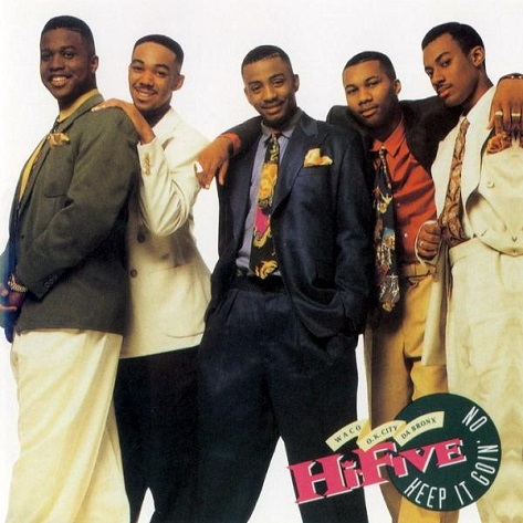 hi five keep it goin on